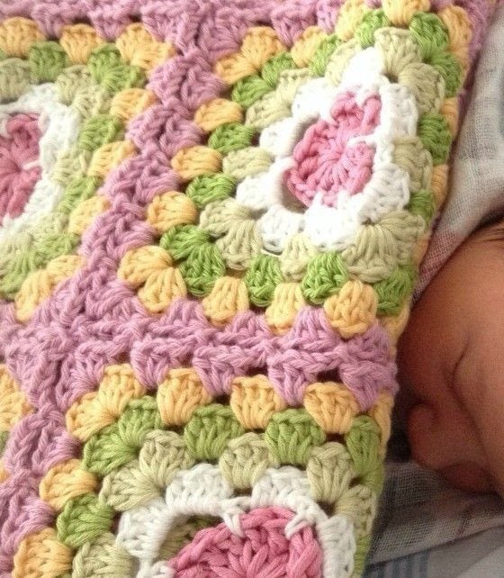 Beautiful Baby Blankets Luxury the Most Beautiful Baby Blanket · How to Crochet A Granny Of Delightful 43 Pics Beautiful Baby Blankets