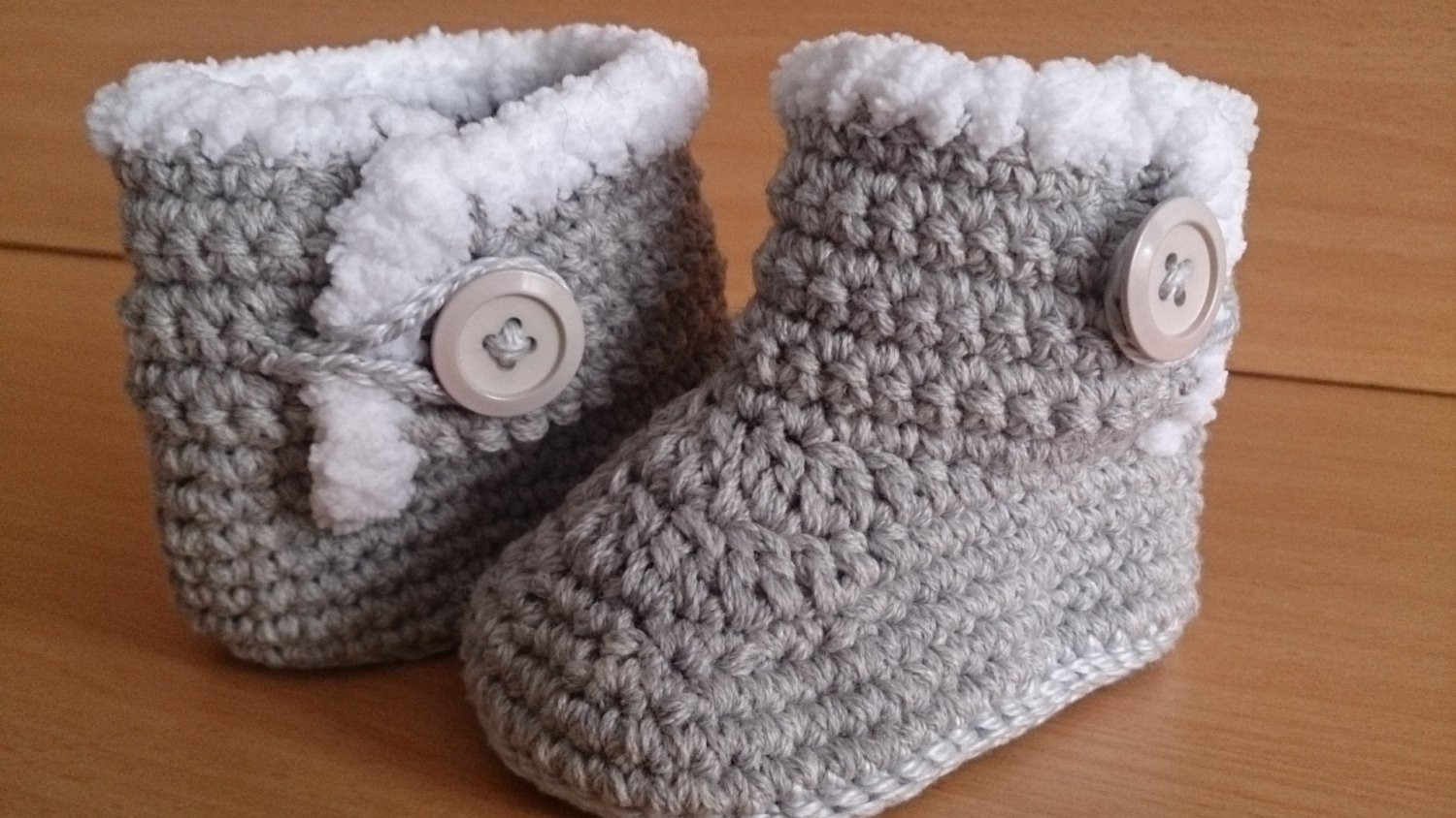 Beautiful Baby Boots Crochet Baby Boots Ugg Style Baby Boots 3 6 Crochet Ugg Of New 40 Ideas Crochet Ugg