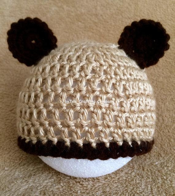 Beautiful Baby Brown Bear Crochet Beanie with Bear Ears by Crochet Baby Hat with Ears Of Lovely 43 Pics Crochet Baby Hat with Ears