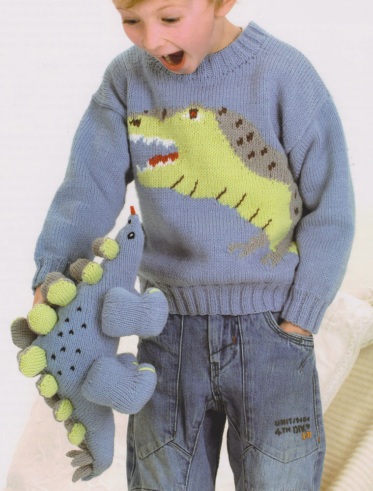 Beautiful Baby Childrens Dinosaur Stegosaurus Sweater & toy 22 30 Knitting Patterns for Childrens Sweaters Of Charming 47 Models Knitting Patterns for Childrens Sweaters
