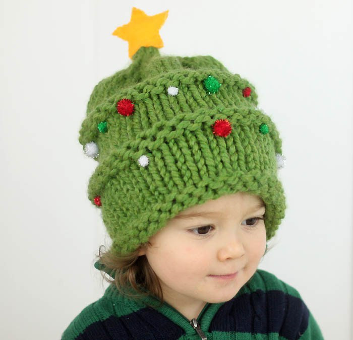 Beautiful Baby Christmas Tree Hat Knitting Pattern Gina Michele Knitted Christmas Hats Of Adorable 50 Models Knitted Christmas Hats