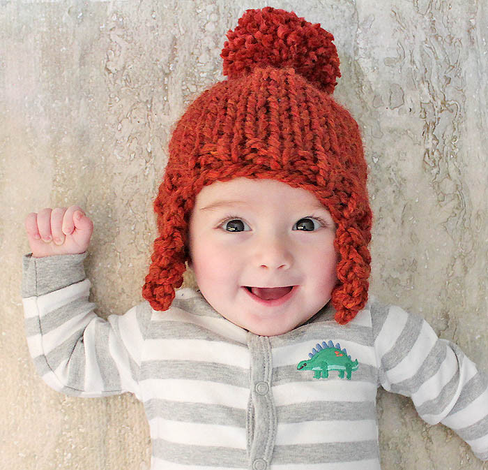 Beautiful Baby Ear Flap Hat [knitting Pattern] Gina Michele Infant Knit Hat Of Beautiful 48 Photos Infant Knit Hat