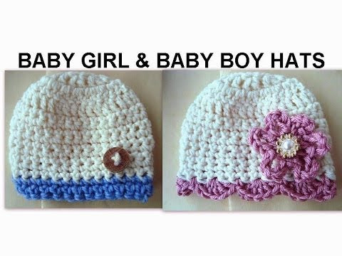 Beautiful Baby Girl and Baby Boy Crochet Hats How to Diy Crochet Baby Girl Hat Of Contemporary 45 Pics Crochet Baby Girl Hat