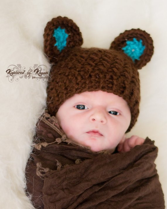 Beautiful Baby Hat with Ears Baby Boy Hat Newborn Hat Crochet Baby Crochet Baby Boy Hats Of New 50 Ideas Crochet Baby Boy Hats