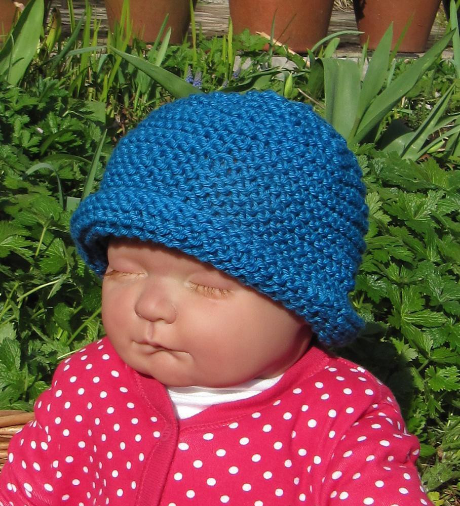 Beautiful Baby Simple Garter Stitch Roll Brim Beanie Hat Knitted Baby Beanies Of Charming 44 Models Knitted Baby Beanies
