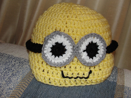 Beautiful Bairbre Aine Minion Crocheted Hat Free Minion Crochet Pattern Of Marvelous 44 Images Free Minion Crochet Pattern