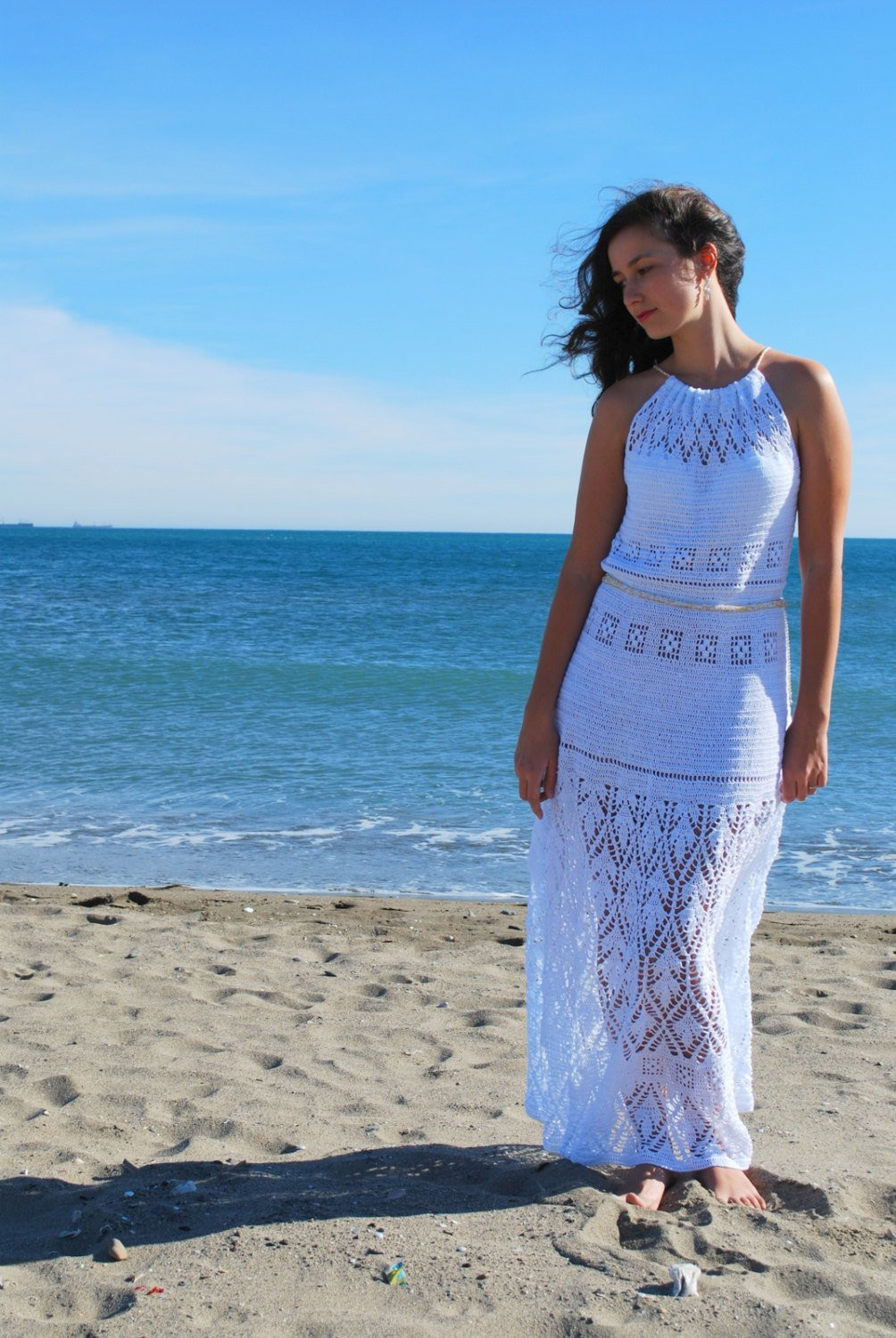 Beautiful Beach Wedding Dress White Crochet Maxi Dress by White Crochet Beach Dress Of Brilliant 42 Pics White Crochet Beach Dress