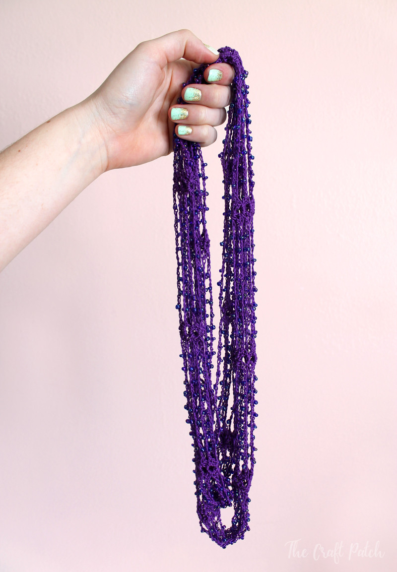 Beautiful Beaded Crochet Wrap Necklace Video Tutorial Crochet Beads Necklace Of Fresh 42 Models Crochet Beads Necklace
