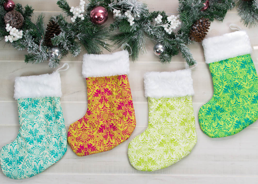 Beautiful and Classic Christmas Stocking Pattern Free