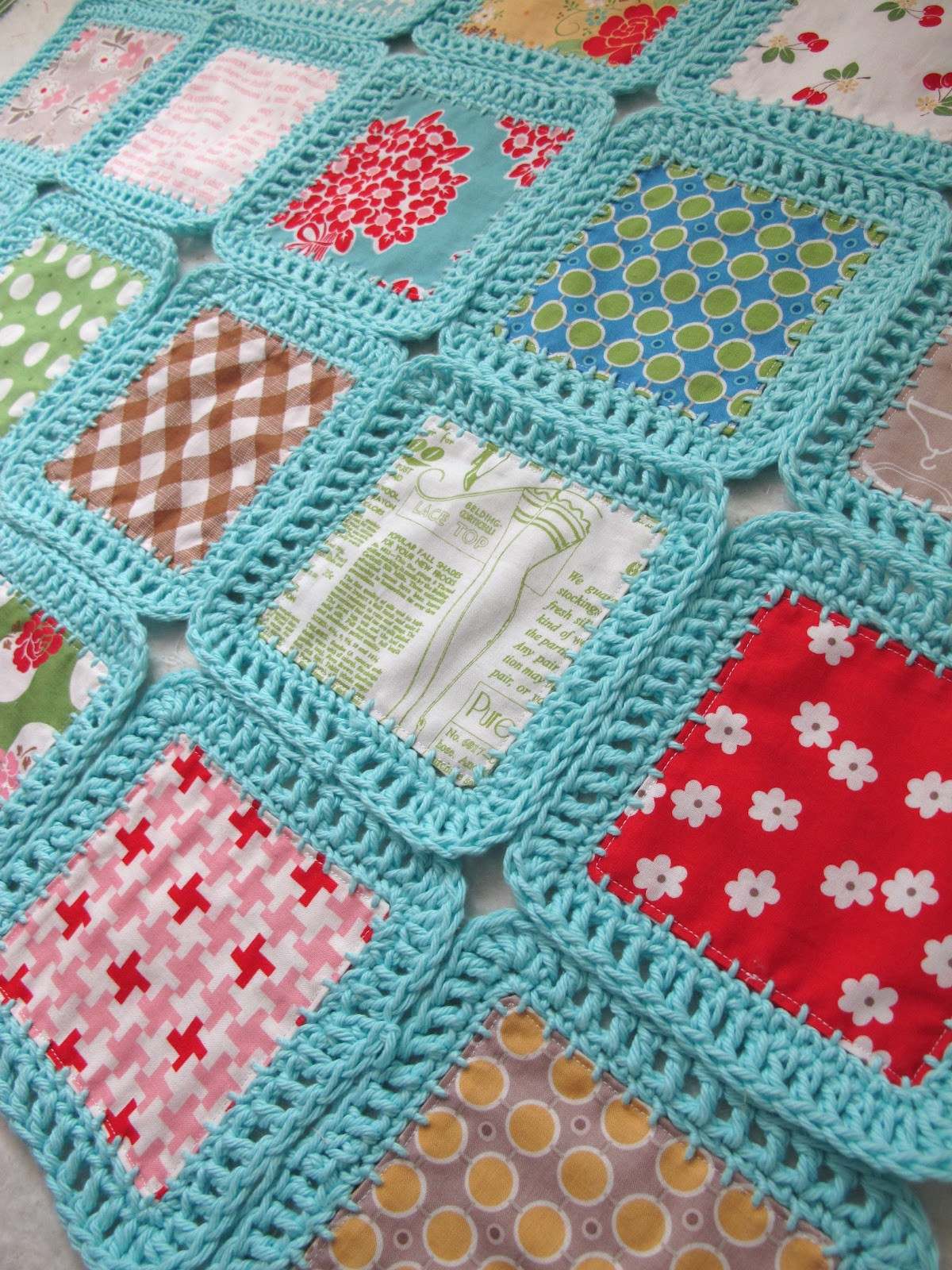 Beautiful Bee In My Bonnet Fusion Blanket Crochet Along Crochet and Fabric Quilt Of Top 45 Models Crochet and Fabric Quilt