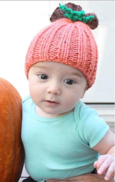 Beautiful Beginner Pumpkin Baby Hat Knitted Pumpkin Hat Of Marvelous 40 Ideas Knitted Pumpkin Hat
