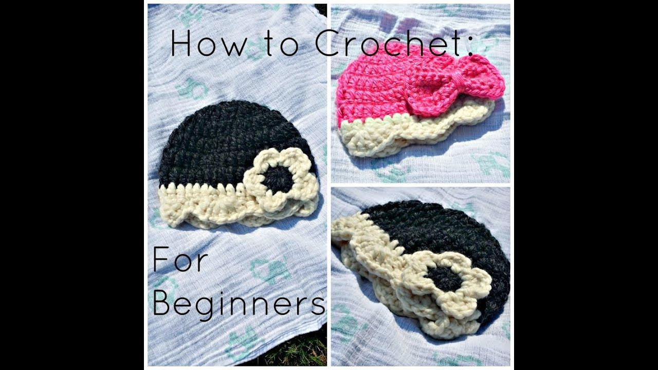 Beautiful Beginners Crochet Tutorial for Baby Hat Crochet for Beginners Youtube Of Fresh 43 Ideas Crochet for Beginners Youtube