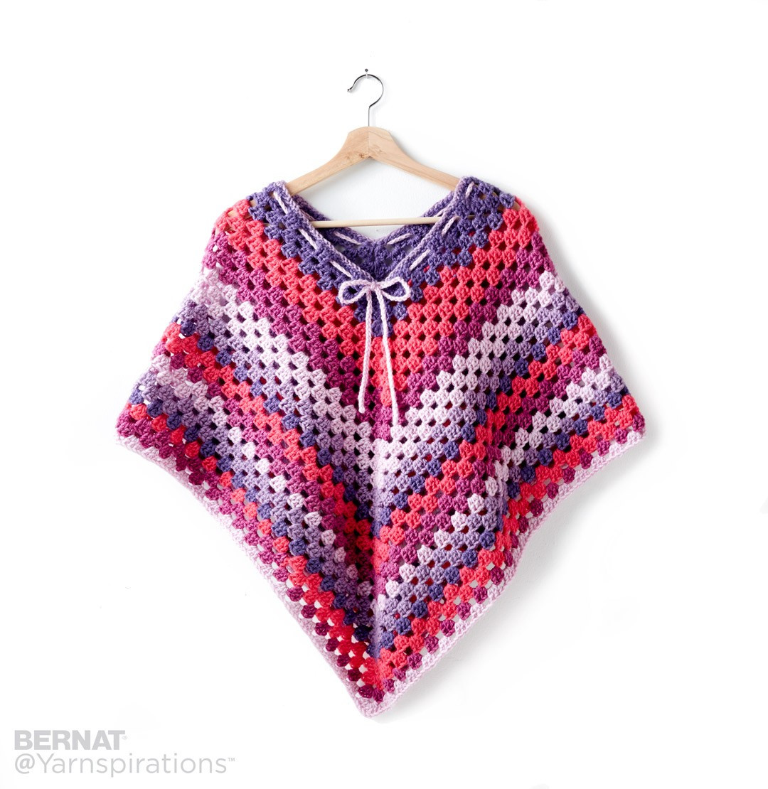 Beautiful Bernat Girl S Crochet Poncho Crochet Pattern Crochet for Girls Of Marvelous 40 Pics Crochet for Girls