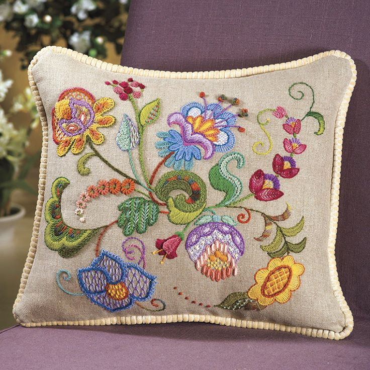 Beautiful Best 20 Crewel Embroidery Ideas On Pinterest Hand Embroidery Kits Of Delightful 45 Photos Hand Embroidery Kits