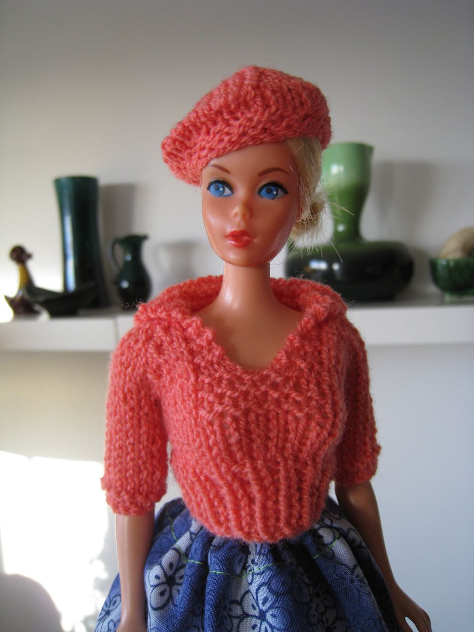 Beautiful Best Barbie Knits New Pullover with Sailor Collar Barbie Doll Patterns Of Superb 40 Pics Barbie Doll Patterns