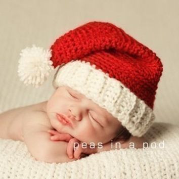 Beautiful Best Crochet Santa Hat Products On Wanelo Baby Christmas Hat Of Brilliant 46 Photos Baby Christmas Hat