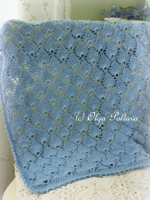 Beautiful Blue Lace Baby Blanket Crochet Pattern Summer Newborn Afghan Baby Blankets for Summer Of Gorgeous 48 Pictures Baby Blankets for Summer