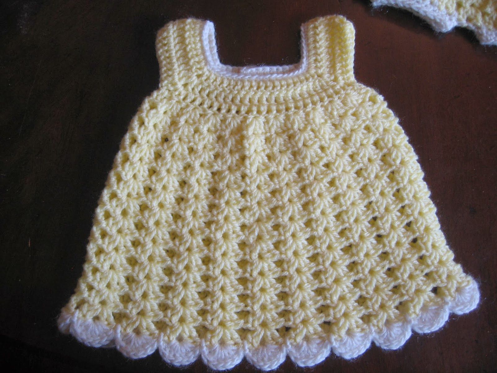 Beautiful Blurt Blogger Free Easy Baby Sundress & Bloomers Pattern Crochet Dress for Baby Of Amazing 42 Photos Crochet Dress for Baby