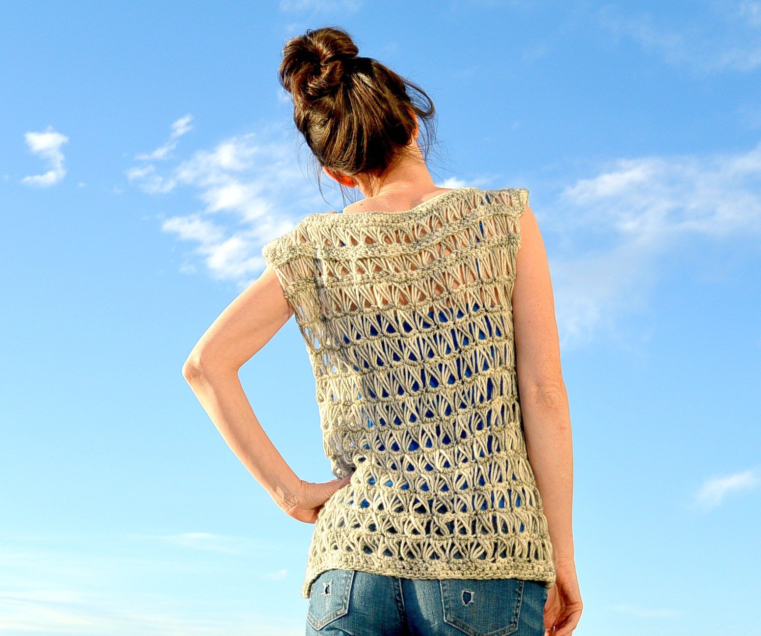 Beautiful Broomstick Lace Crochet top – Mama In A Stitch Crochet tops Of Superb 50 Photos Crochet tops