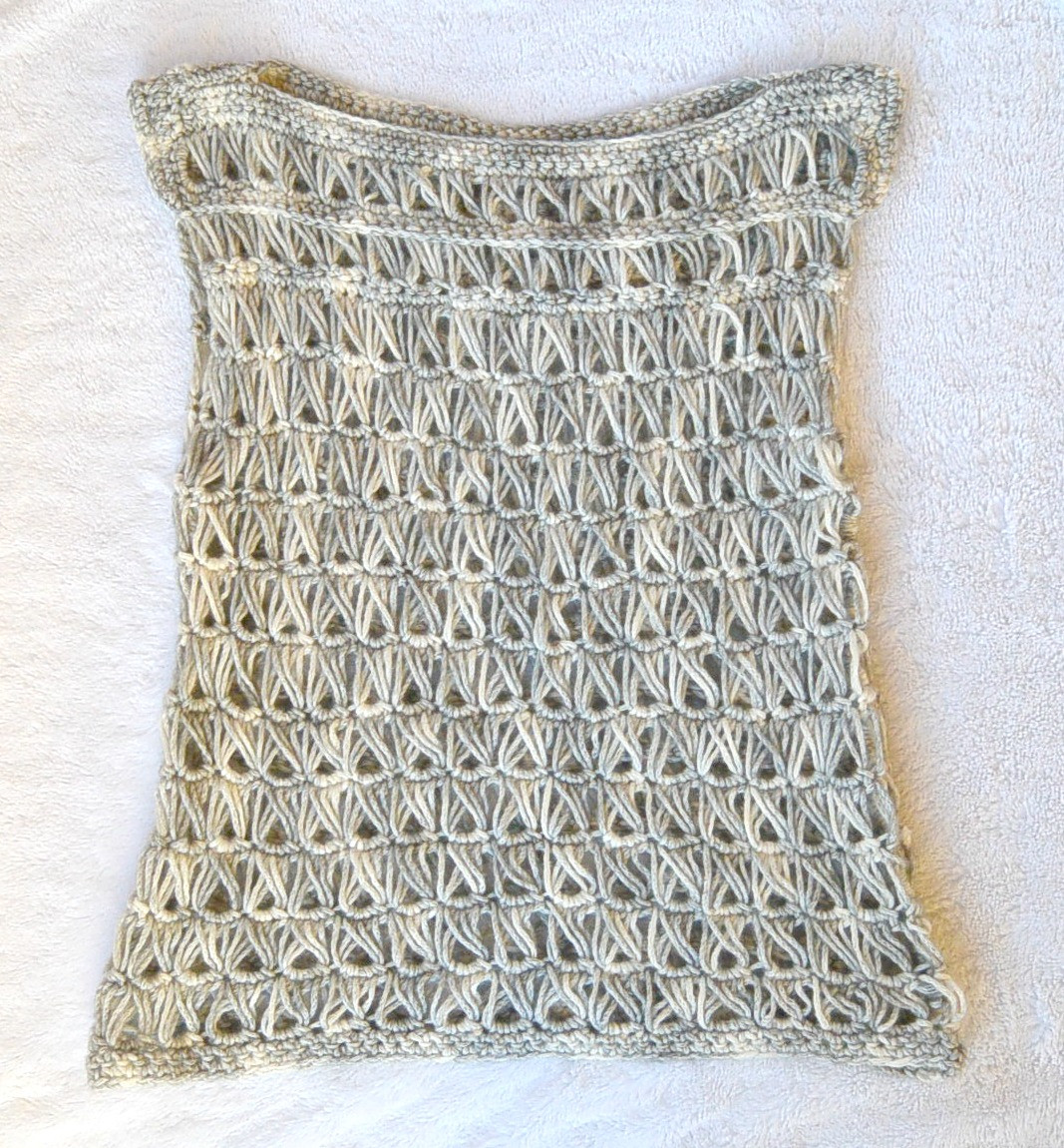 Beautiful Broomstick Lace Crochet top – Mama In A Stitch Crochet tops Patterns Of Innovative 49 Photos Crochet tops Patterns