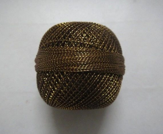 Beautiful Brown with Gold Lurex 20 Grams Cotton Yarn Thread Black and Gold Yarn Of Superb 46 Images Black and Gold Yarn