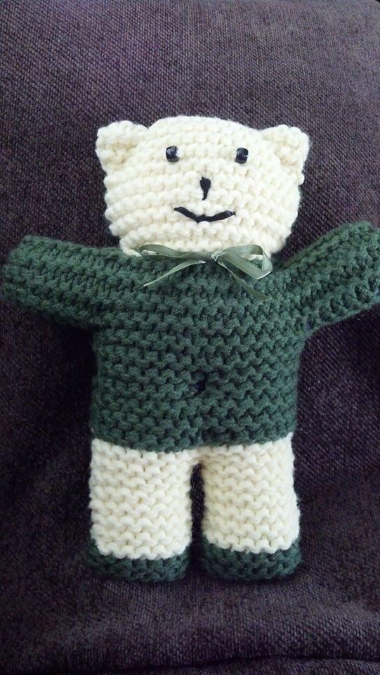 Beautiful Buddy Bears to Knit Knitting Crochet toys Knitted Bear Pattern Of Brilliant 42 Photos Knitted Bear Pattern