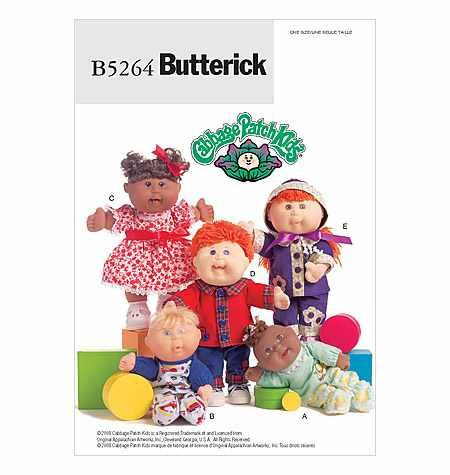 Beautiful butterick Mccall Pattern Pany B5264 butterick Cabbage Cabbage Patch Kids for Sale Of Marvelous 47 Pics Cabbage Patch Kids for Sale