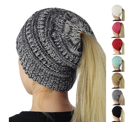 Beautiful Buy Ponytail Beanie Knitted Winter Hat Line at Ikoala Ponytail Winter Hat Of Incredible 45 Pictures Ponytail Winter Hat