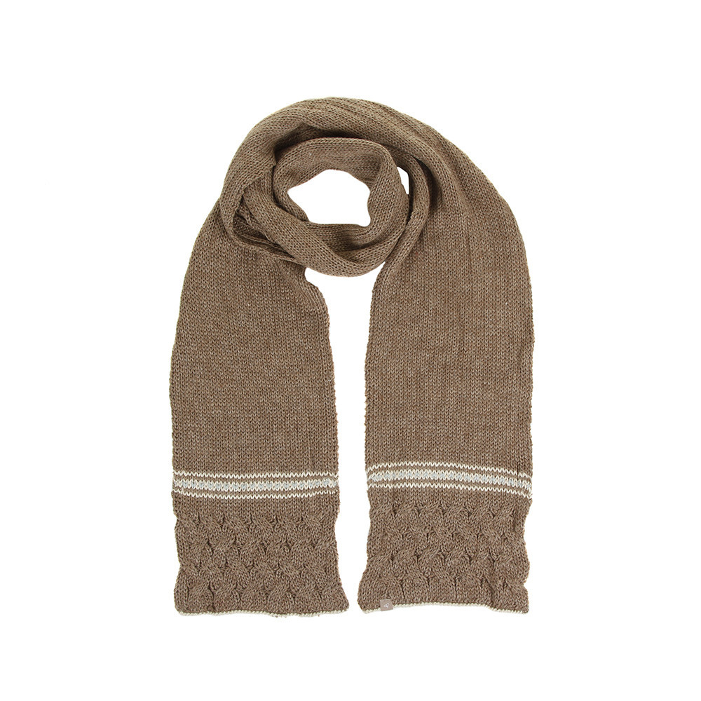 Beautiful Buy Samantha Holmes Alpaca Cable Knit Scarf Nutmeg Cable Scarf Of Innovative 49 Ideas Cable Scarf