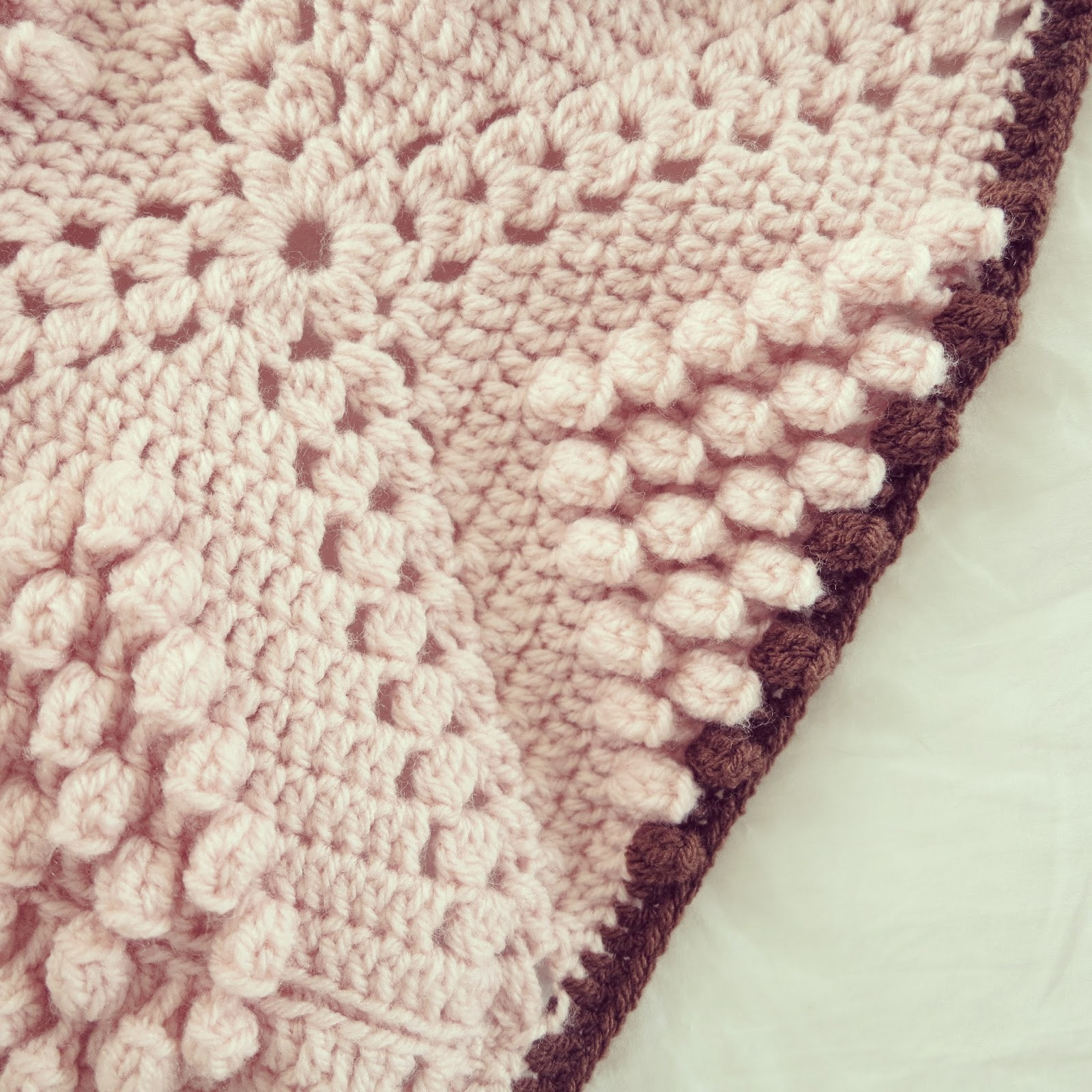 Beautiful byhaafner Crochet Pattern Popcorn Blanket Popcorn Stitch Crochet Patterns Of Best Of How to Crochet Lazy Popcorn Stitch No Removing Your Hook Popcorn Stitch Crochet Patterns