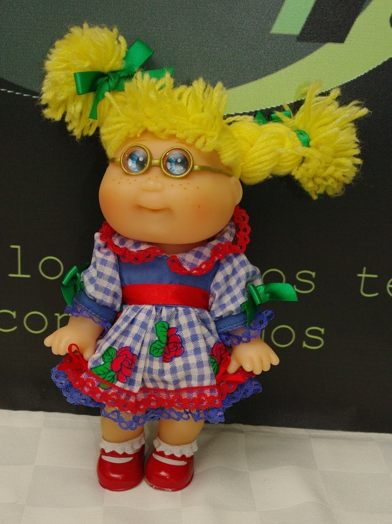 Beautiful Cabbage Patch Kids Doll Cpk Mini Glasses Blonde Blue Eyes Small Cabbage Patch Dolls Of Unique 47 Pictures Small Cabbage Patch Dolls