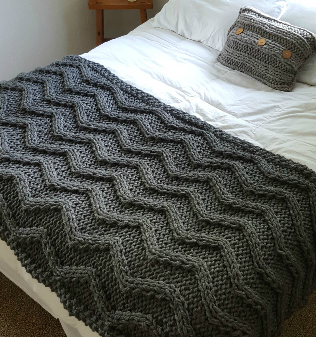 Beautiful Cable Afghan Knitting Patterns Cable Blanket Of Contemporary 40 Ideas Cable Blanket