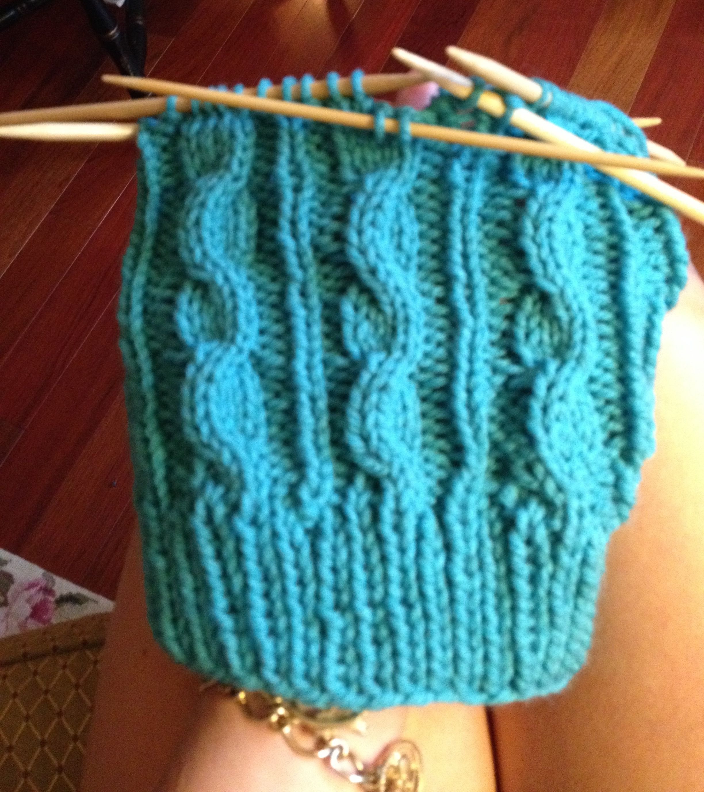 Cable Knit Hat—Free Easy Pattern