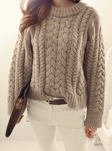 Beautiful Cable Knit Jumper Womens Crochet and Knit Ladies Cable Knit Sweater Of Charming 49 Photos Ladies Cable Knit Sweater