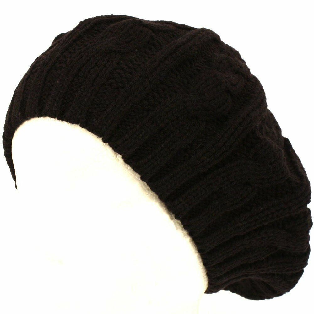 Beautiful Cable Knitted Winter Ski Beret Tam Skull Hat Winter Knit Hats Of Charming 40 Photos Winter Knit Hats