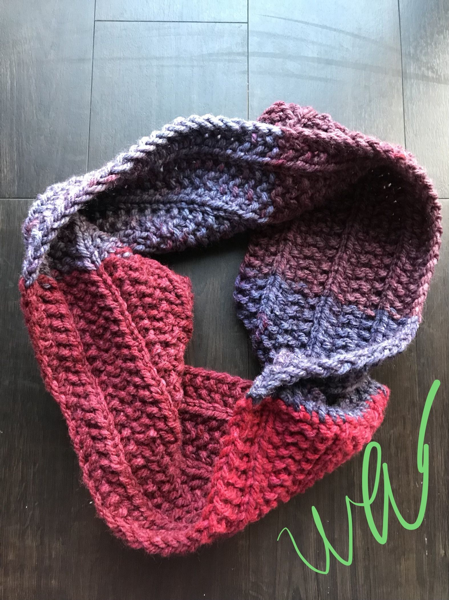 Caron cakes tea cake Hibiscus in Lenny's Seeds pattern on