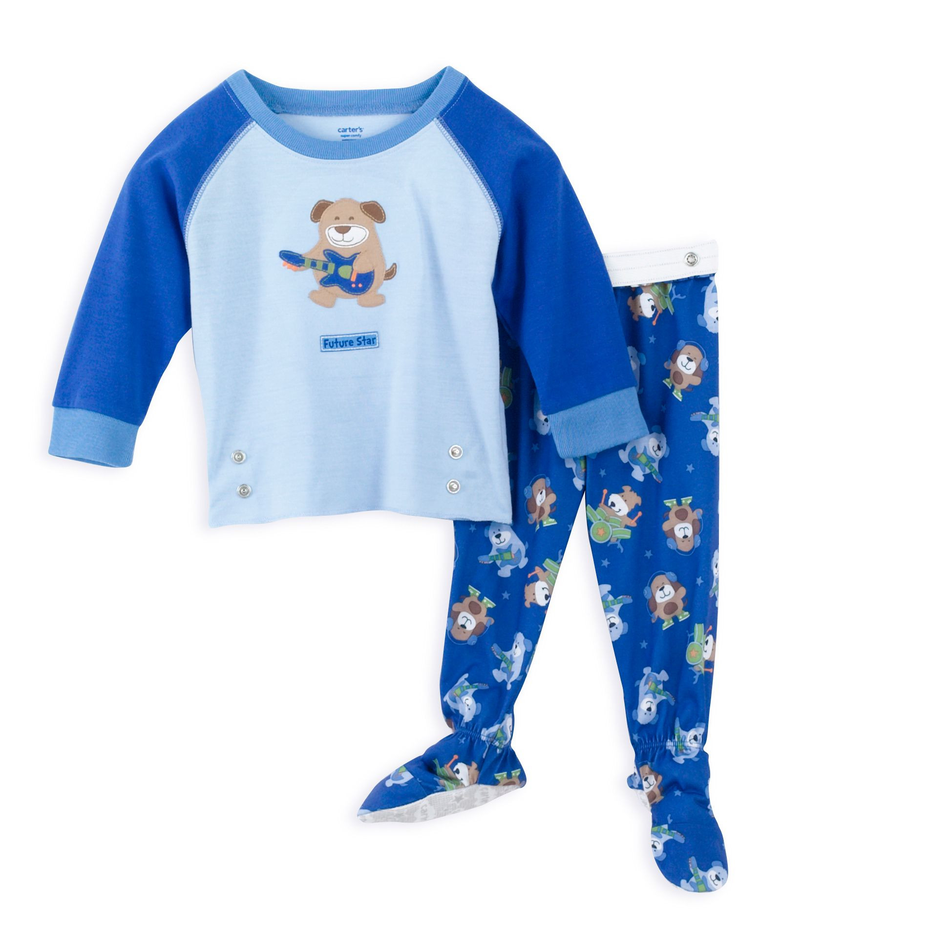 Beautiful Carter S Infant Boy S 2 Piece Snapwaist Footed Pajamas Baby Pajamas with Feet Of Delightful 40 Photos Baby Pajamas with Feet