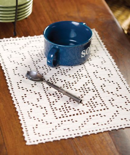 Beautiful Celtic Placemat In Red Heart Aunt Lydia S Classic Crochet Crochet Thread Size 10 Free Patterns Of Delightful 50 Models Crochet Thread Size 10 Free Patterns
