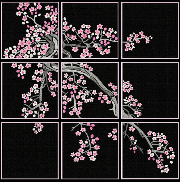 Beautiful Cherry Blossom Quilt Blocks Machine Embroidery Designs Embroidery Quilt Patterns Of Contemporary 50 Pictures Embroidery Quilt Patterns