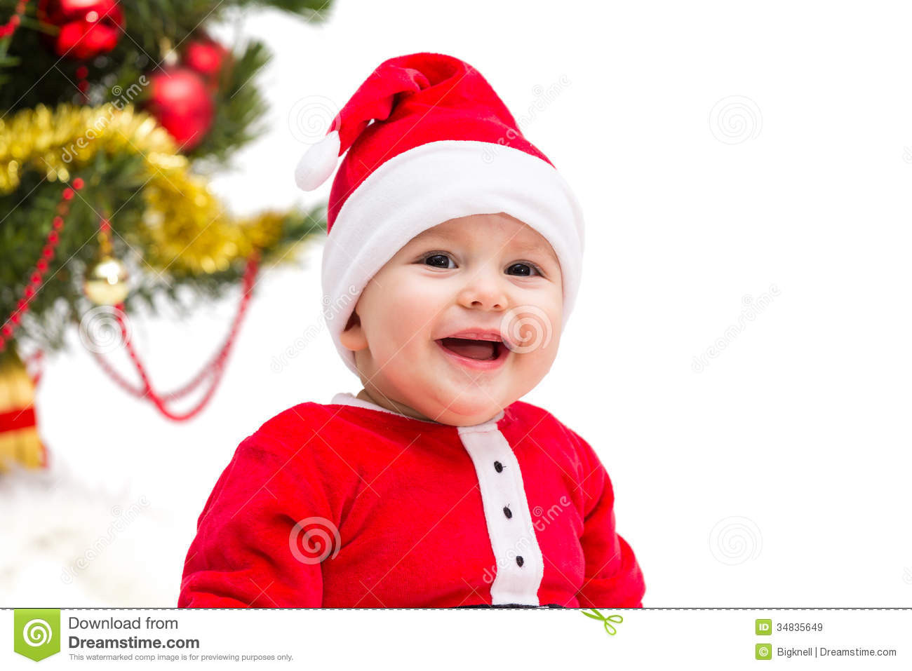 Beautiful Christmas Baby Stock Image Image Of People Cute Funny Baby Christmas Hat Of Brilliant 46 Photos Baby Christmas Hat