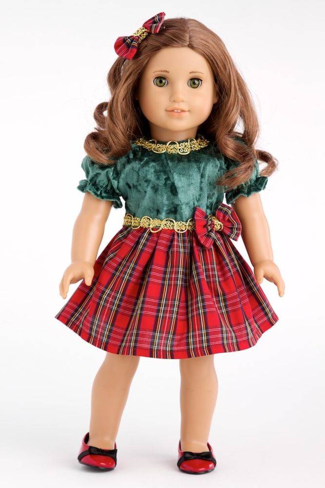 Beautiful Christmas Classic Clothes for 18 Inch American Girl Doll American Girl Doll Christmas Outfits Of Wonderful 40 Ideas American Girl Doll Christmas Outfits