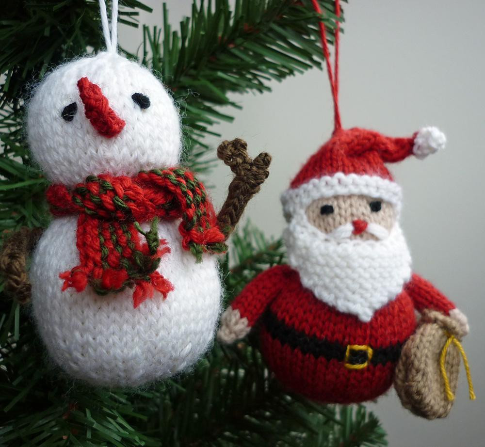 Beautiful Christmas ornaments 1 Knitting Pattern by Julie Taylor Knitted Christmas ornaments Of Incredible 50 Models Knitted Christmas ornaments