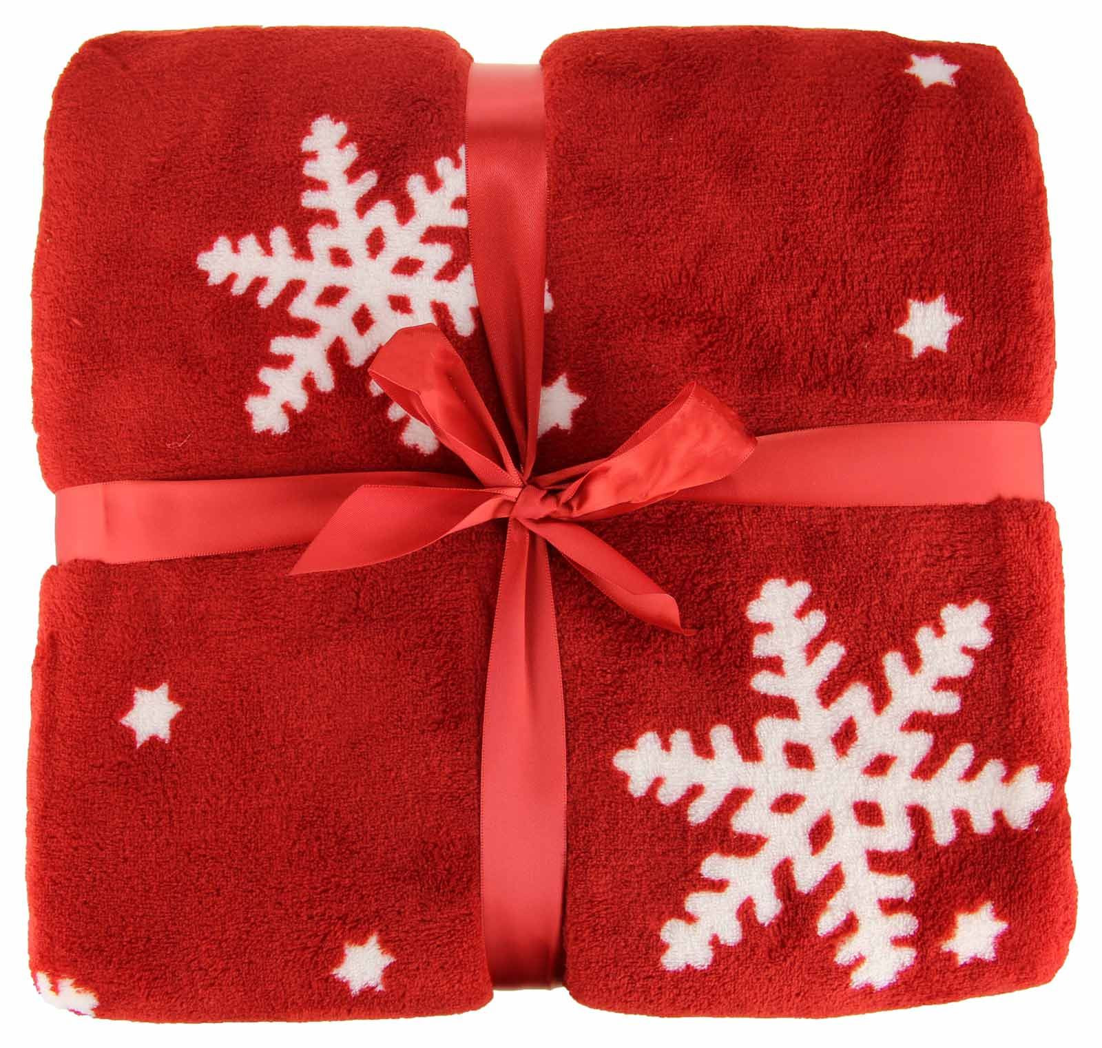 Beautiful Christmas Throw Blanket Festive Fleece Plush and Cosy Snowflake Blanket Of Lovely 50 Models Snowflake Blanket