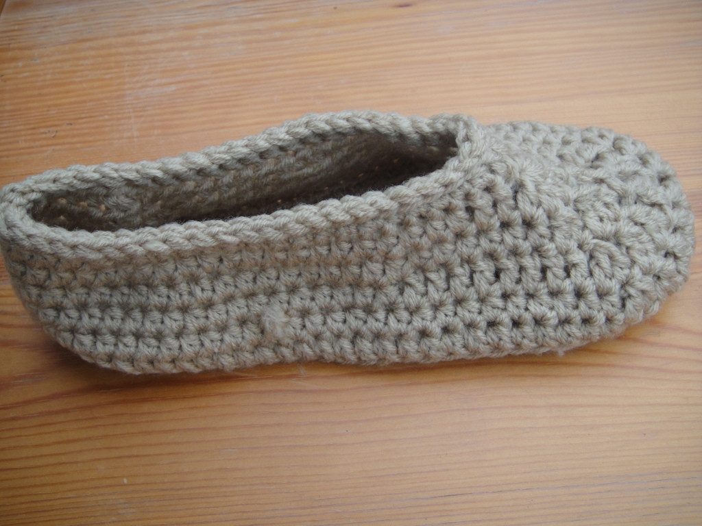 Beautiful Chrochet Slippers Pattern ⋆ Look at What I Made Easy Crochet Slippers Free Pattern Of Perfect 46 Photos Easy Crochet Slippers Free Pattern