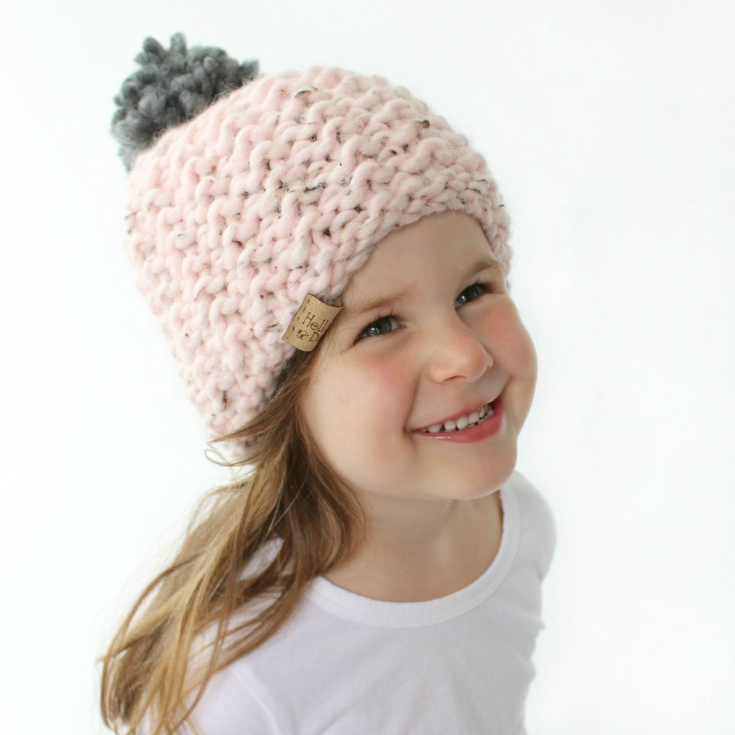Chunky Knit Hat Pattern PDF Knitting Pattern Super Bulky