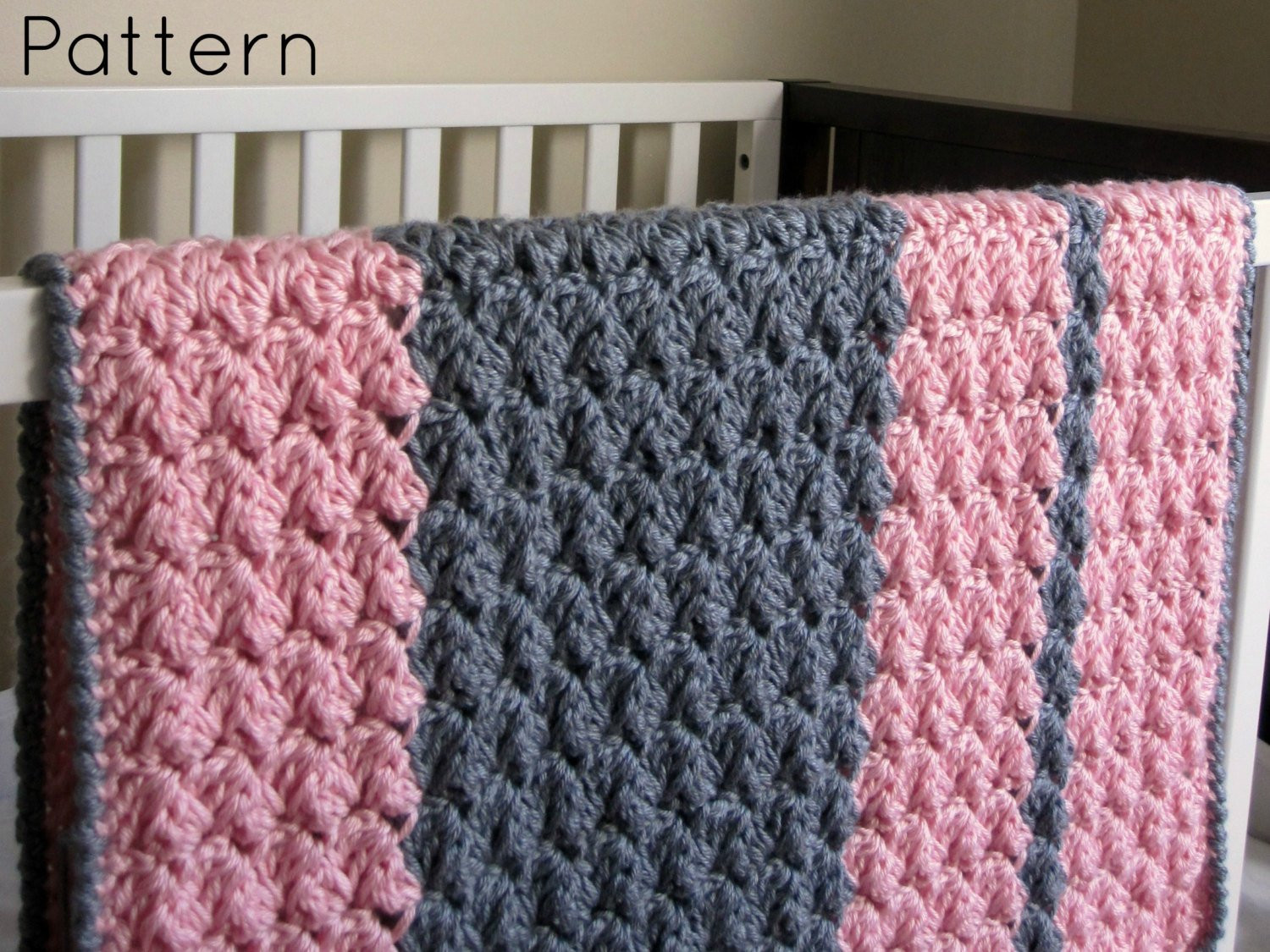 Beautiful Chunky Preppy Baby Reversible Crochet Blanket Pattern Chunky Yarn Crochet Of Innovative 43 Photos Chunky Yarn Crochet