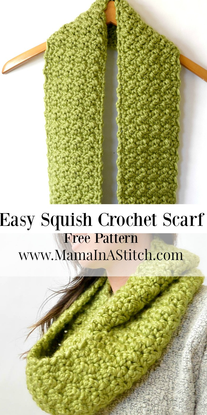 Beautiful Chunky Squishy Crochet Infinity Scarf Pattern – Mama In A Easy Crochet Scarf Patterns Free Of Lovely 49 Images Easy Crochet Scarf Patterns Free