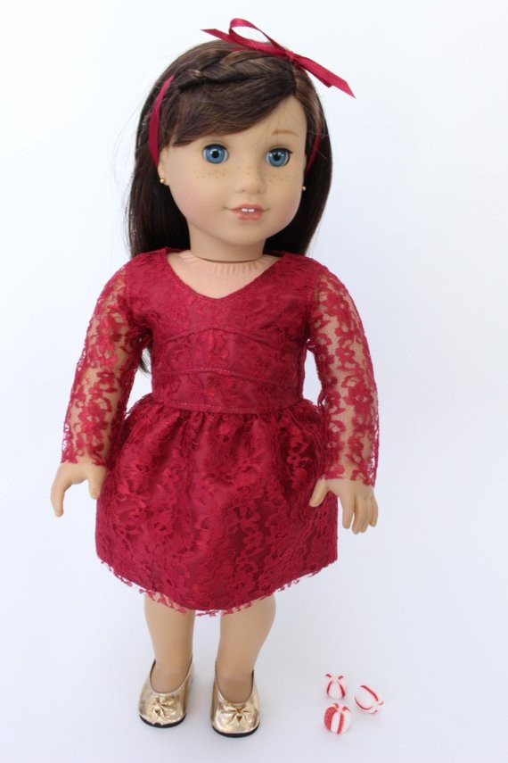 Beautiful Clearance American Girl Doll Clothes Holiday Dressy Satin American Girl Doll Christmas Outfits Of Wonderful 40 Ideas American Girl Doll Christmas Outfits