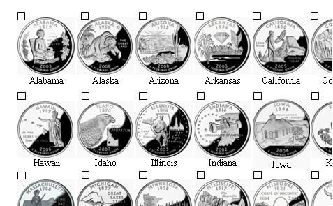 Beautiful Collecting State Quarters Checklist Click On Image for 50 State Quarter Collection Of Adorable 42 Pictures 50 State Quarter Collection
