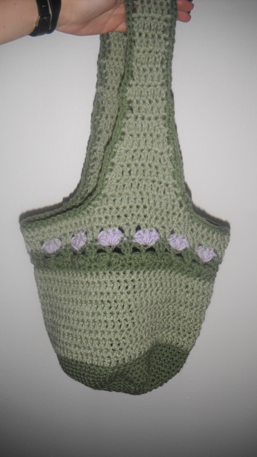 Beautiful Craft Disasters and Other atrocities Lilac Meadows Hobo Bag Crochet Hobo Bag Of Adorable 47 Pictures Crochet Hobo Bag